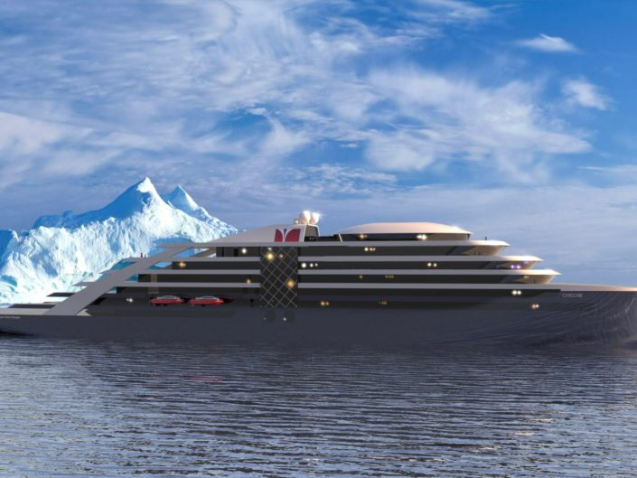 Designing the future of cruise